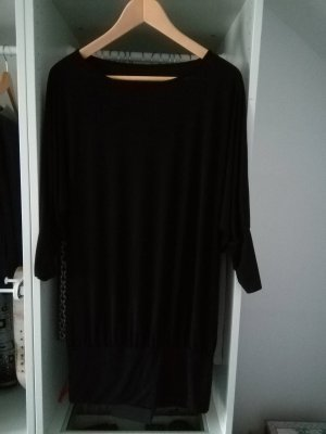 Camicia oversize nero