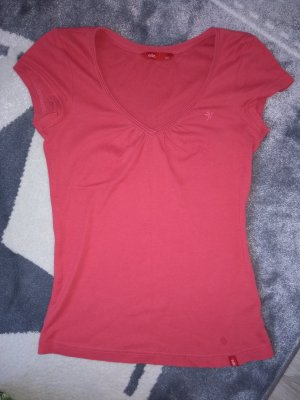 edc Shirt bright red-raspberry-red