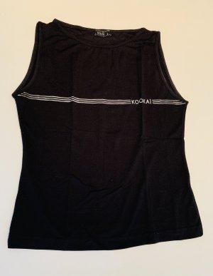 Kookai Camiseta negro tejido mezclado