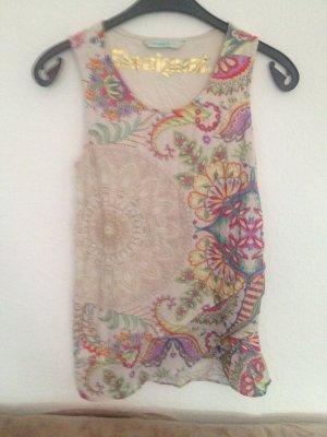 Desigual Wraparound Shirt multicolored mixture fibre