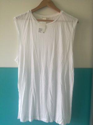 HM Oversized Shirt white