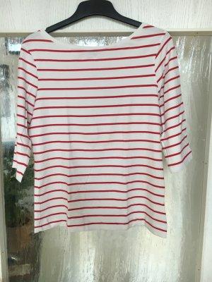 Atmosphere Camisa de rayas blanco-rojo