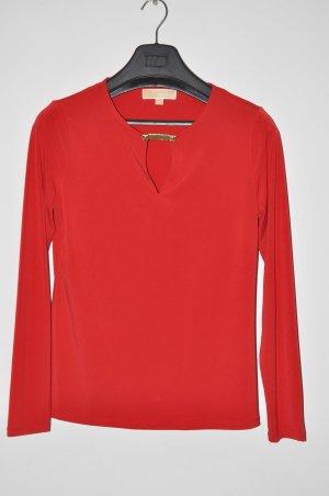 Michael Kors Camicia rosso Poliestere