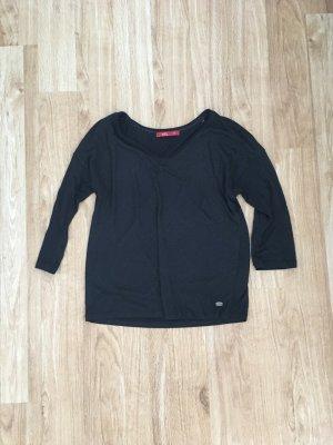 Shirt 3/4 Ärmel edc schwarz Größe XS