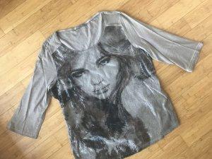 Shirt 3/4 Ärmel, Pailletten, ZABAIONE