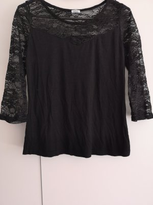 Pimkie Crochet Shirt black