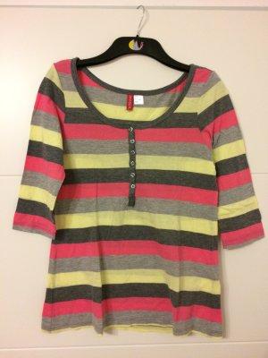 H&M Gestreept shirt veelkleurig Katoen