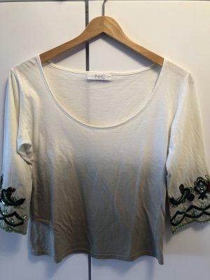 Nice Connection Camisa blanco puro-caqui