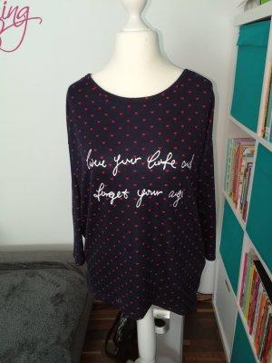 Shirt 3/4 der Marke Only in dunkelblau in der Größe M