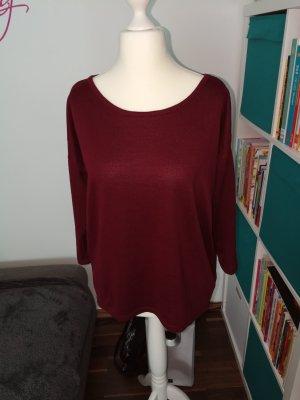 Shirt 3/4 der Marke Only in weinrot in der Größe M