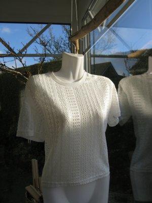 Shirt  34 weiß mit Muster