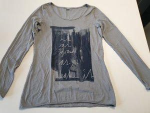 s.Oliver Print Shirt grey