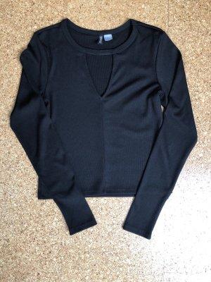 H&M Divided Long Shirt black