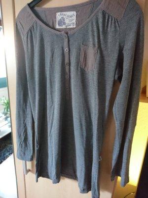 s.Oliver Oversized shirt grijs