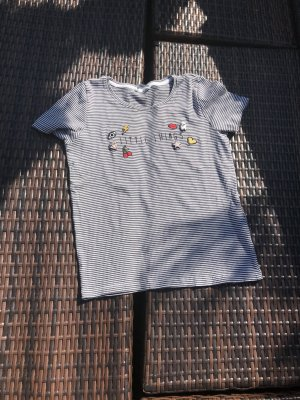 Only T-shirt gris ardoise