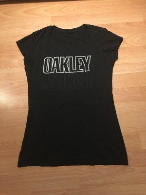 Oakley Shirt met print zwart-wit