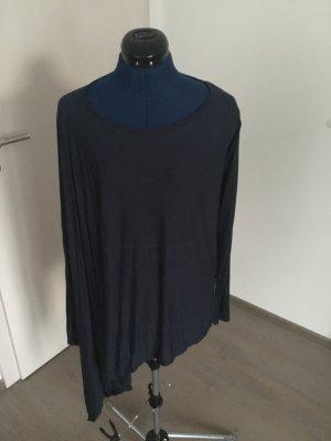 Sisley Lang shirt blauw