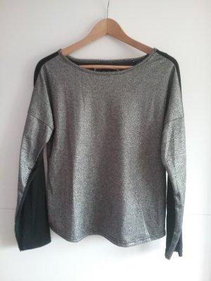 free shipping 93de0 ef96b Emoi Camicia a tunica nero-argento