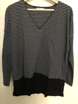 Zara Blusa negro-blanco
