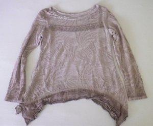 Shirt Tunic dusky pink mixture fibre