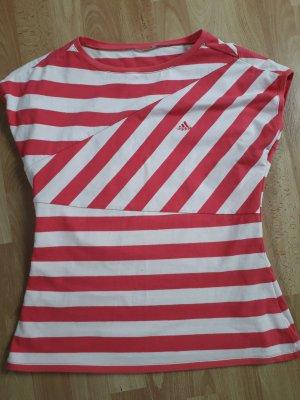 Shirt asymmetrische Streifen