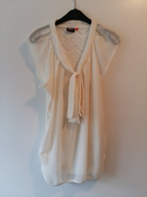Only Lace Top cream-pale yellow