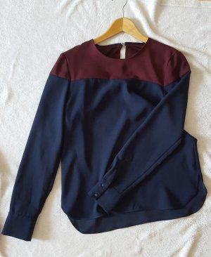 Shirt aus fließendem Stoff in toller Farbkombination