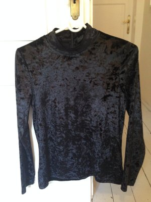 Shirt aus Samt von Hallhuber