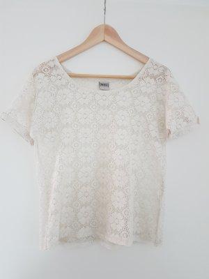 Shirt aus Spitze von Object Gr. M