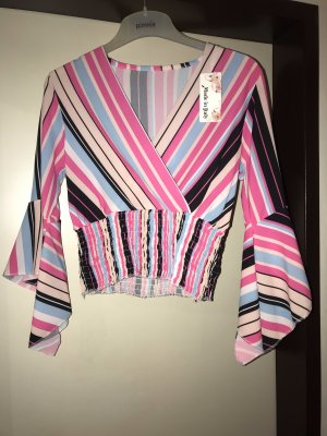 Wraparound Shirt multicolored