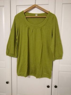 s.Oliver Camisa tipo túnica verde hierba