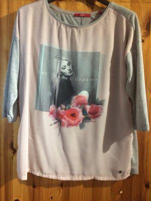 s.Oliver Lang shirt veelkleurig