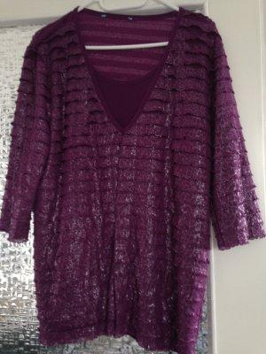 Tunique violet polyester