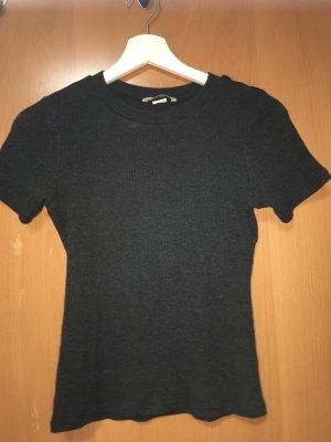 H&M Camicia a coste grigio scuro