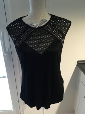 H&M V-Neck Shirt black