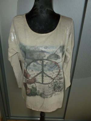 Shirt beige Peace Tredy Zukauf