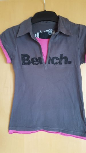 Bench T-Shirt anthracite-pink