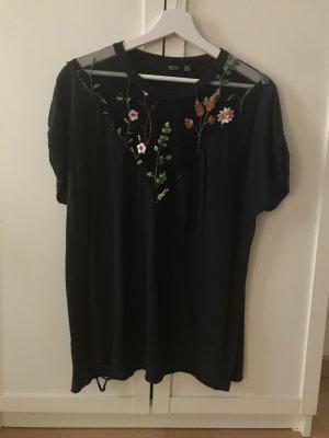 Bershka Camiseta negro