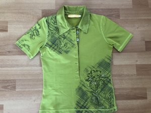 Biba Camiseta tipo polo verde-caqui