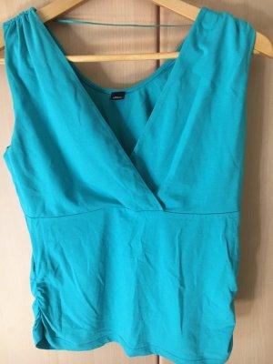 s.Oliver Wraparound Shirt light blue