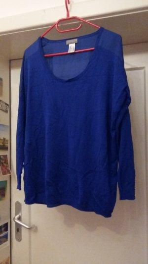 Shirt Blau langarm