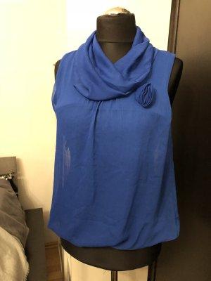 Shirt Blau mit Blume