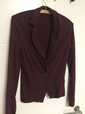 Shirt Blazer in bordeaux von Tom Tailor