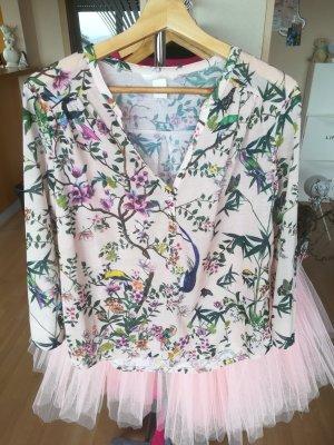 Shirt Bluse Blumen Sommer Flower