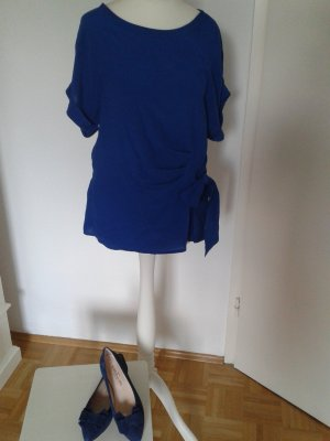 Shirt-Bluse Esprit Gr. XS kornblumenblau mit Etikett