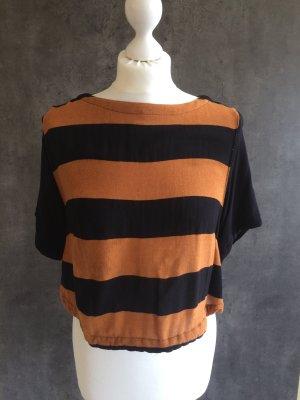 Shirt Bluse kurz gestreift