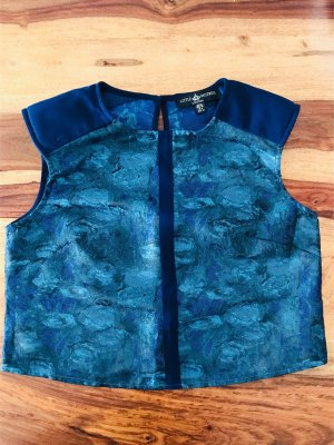 Shirt/ Bluse Little Mistress Gr 38, blau, neu