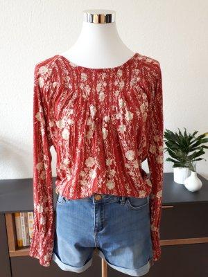 Lucky Brand Shirt Tunic white-red