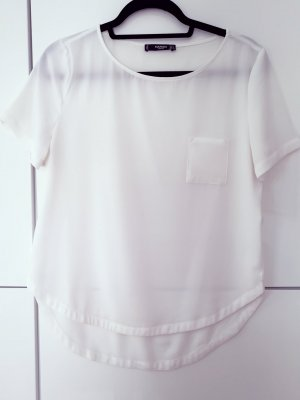 Shirt Bluse Mango weiß Größe 36 S