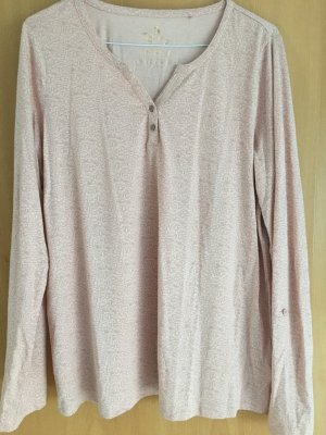 Shirt-Bluse mit abstraktem Muster
